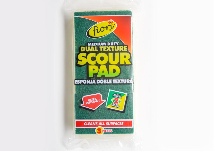 Dual Texture Scour Pad