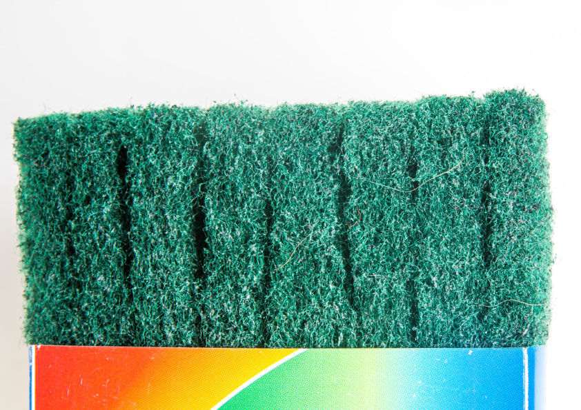 Green Heavy Duty Scourer Pad